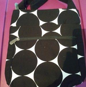 Organizing Shoulder Bag (big dot)